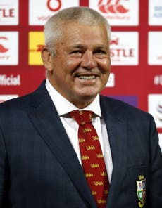 Warren Gatland dashes Rassie Erasmus' hopes of two Lions-South Africa 'A' games
