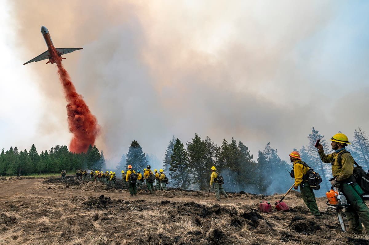 Wildfires threaten homes, land across 10 Western states