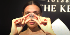 Rare 101-carat diamond bought for $12.3m in cryptocurrency by mystery buyer