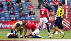 British and Irish Lions set to decide whether Alun Wyn Jones rejoins squad after shoulder injury