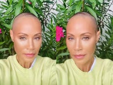 Jada Pinkett Smith sparks praise and support after debuting shaved head amid hair loss: 'So beautiful'