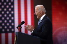 Biden lambasts Trump's 'big lie' in impassioned defence of voting rights, asking GOP 'Have you no shame?'