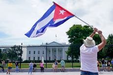 Biden announces new sanctions on Cuba after crackdown on anti-government protesters