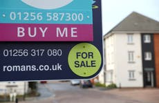 Average UK house price surges by 10% annually and nears record high