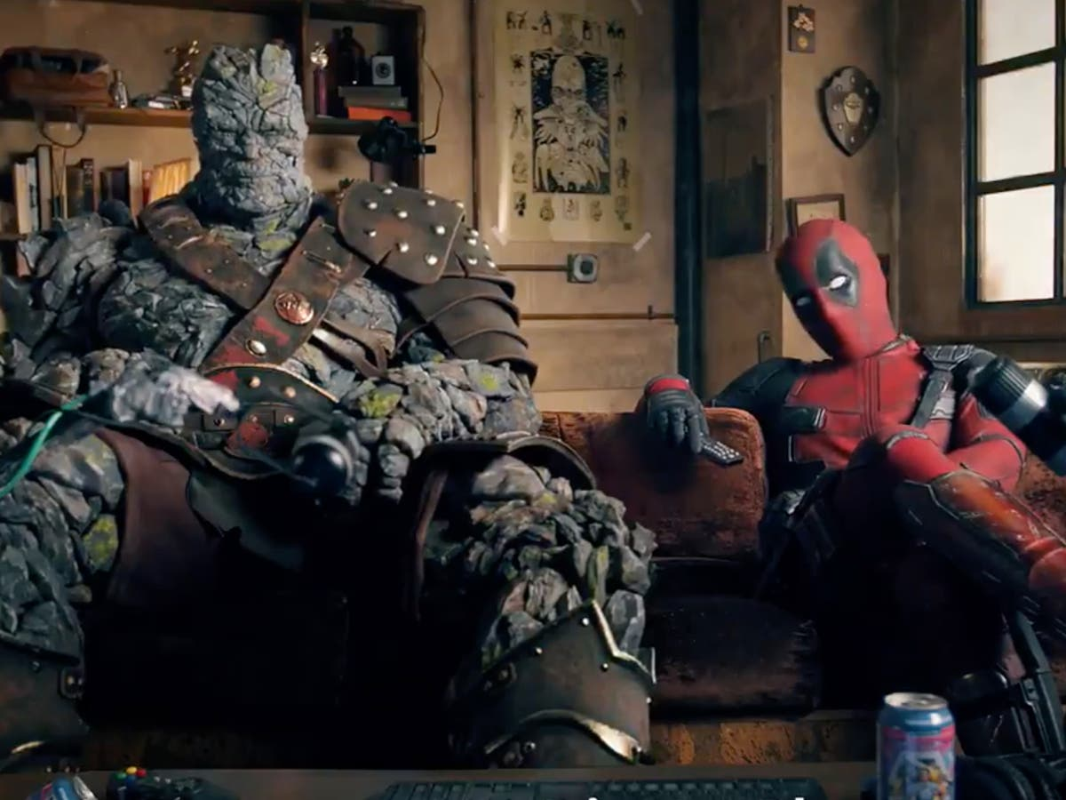 Deadpool finally enters the MCU as he joins Avengers: Endgame's Korg in Free Guy promo video