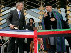 Bush criticizes Afghanistan withdrawal, fears for women
