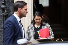 Priti Patel criticised by Labour for 'not bothering to turn up' to urgent question on racism