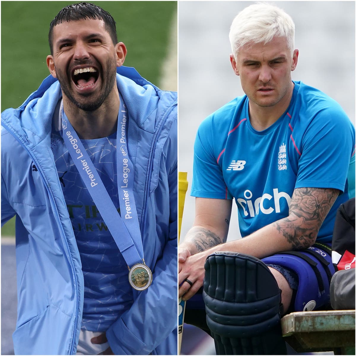 City's Aguero shirt tribute and blond cricketers – Wednesday's sporting social