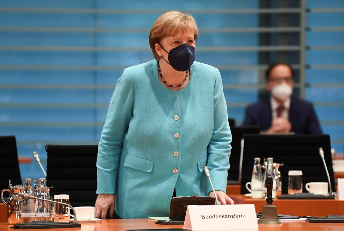 Harris to host Merkel before chancellor's talks with Biden