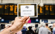 'Golden' train tickets to inspire workers to take a day off