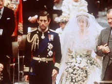 Princess Diana had hidden message on the shoes she wore on her wedding day to Prince Charles