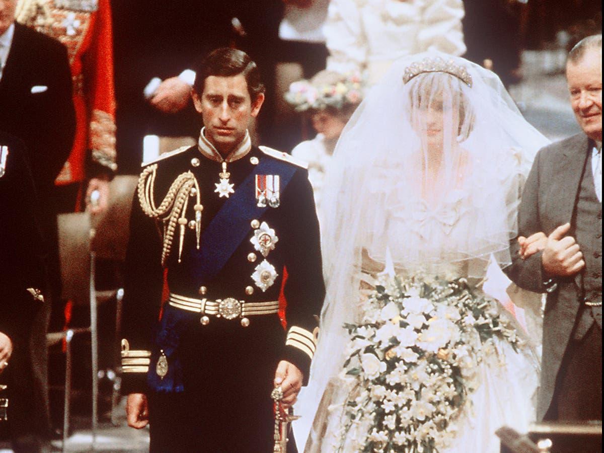 Prince Charles and Princess Diana's wedding cake slice sold for £1,850
