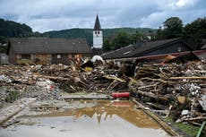 Germany Belgium floods – live: Over 40 dead in 'catastrophic' rainfall as houses swept away