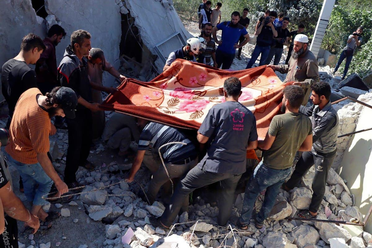 Syrian government forces hit last rebel enclave, 殺害 9