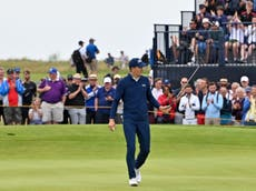 The Open 2021: Jordan Spieth shows champion's class of old to surge into contention