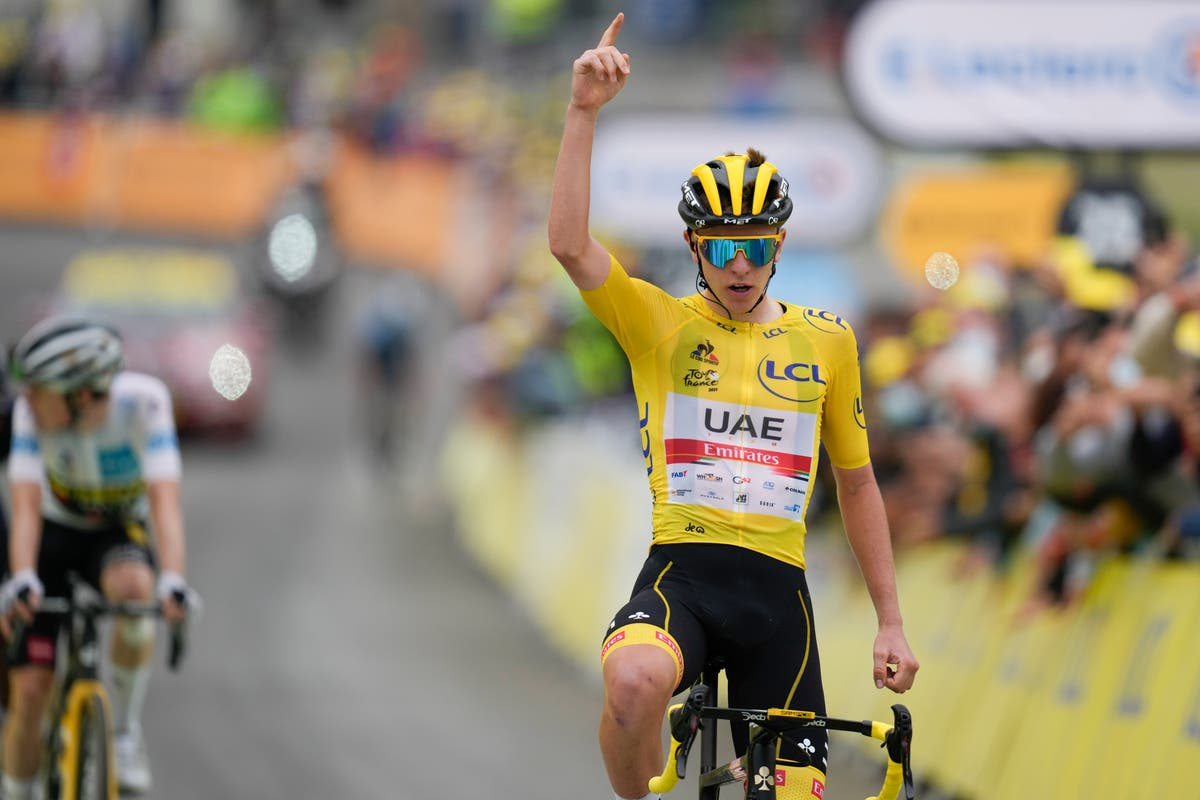 Tadej Pogacar dominates in the mountains to close on Tour de France victory