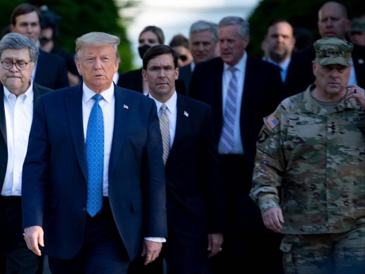 Mark Milley warned Trump was going to start a 'f***ing war' with Iran and Pence called country 'evil', book claims