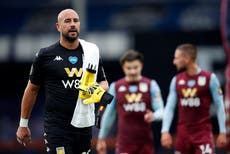 Reina behind the mask and Robben retires again – Thursday's sporting social