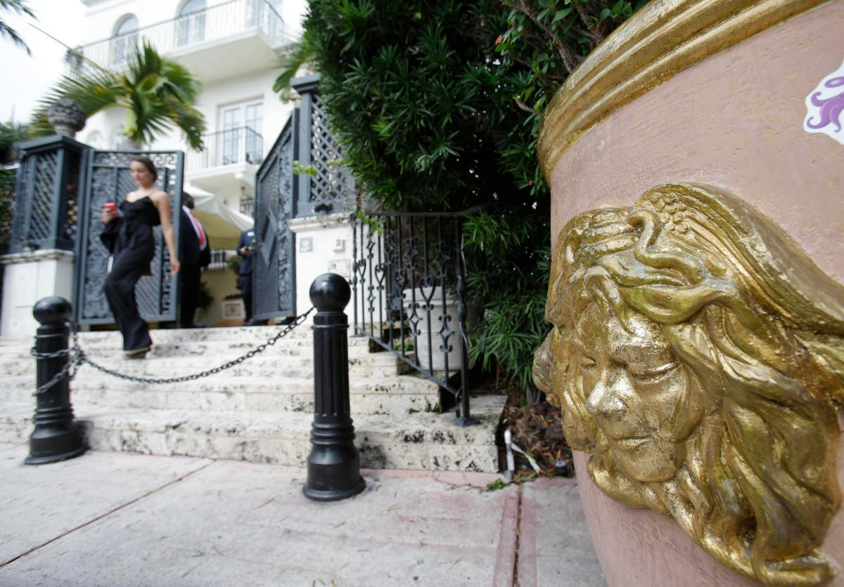Police: 'Double suicide' at Gianni Versace's former mansion