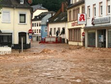Germany-Belgium floods – live: 120 dead in 'catastrophe', as EU chief blames climate crisis for disaster