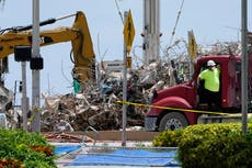 Recovery effort at collapsed building could end soon