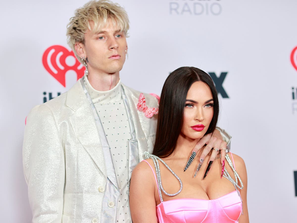 Megan Fox and MGK criticised after hinting about sex on an Airbnb table