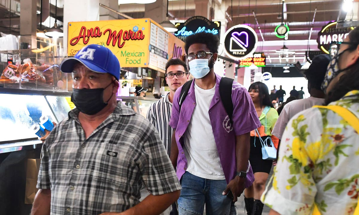 Los Angeles County again ordering residents to wear masks indoors as Covid-19 cases spike
