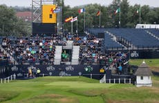 Early Open starters face challenging conditions as day two gets under way