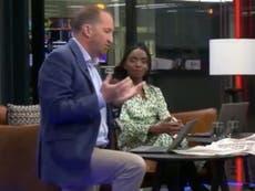 グート・ハッリは、チャンネルが膝をオンエアにしたために彼を一時停止した後、GBニュースを辞めました