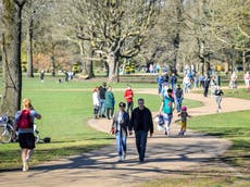 Health alert issued in England ahead of weekend heatwave