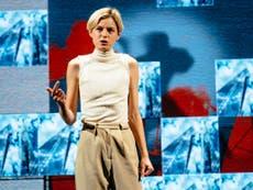 アンナXレビュー, ハロルド・ピンター: エマ・コリンは、この非常に興味をそそる新しい劇の偽の相続人です