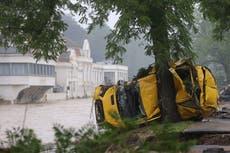 悲剧作为 12 在洪水席卷建筑物后,德国的养老院居民丧生