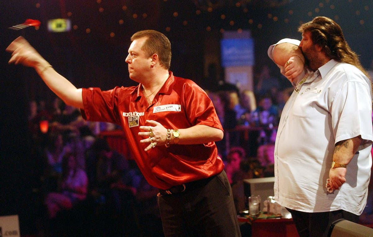 Mervyn King remembers the laughs provided on the oche by the late Andy Fordham