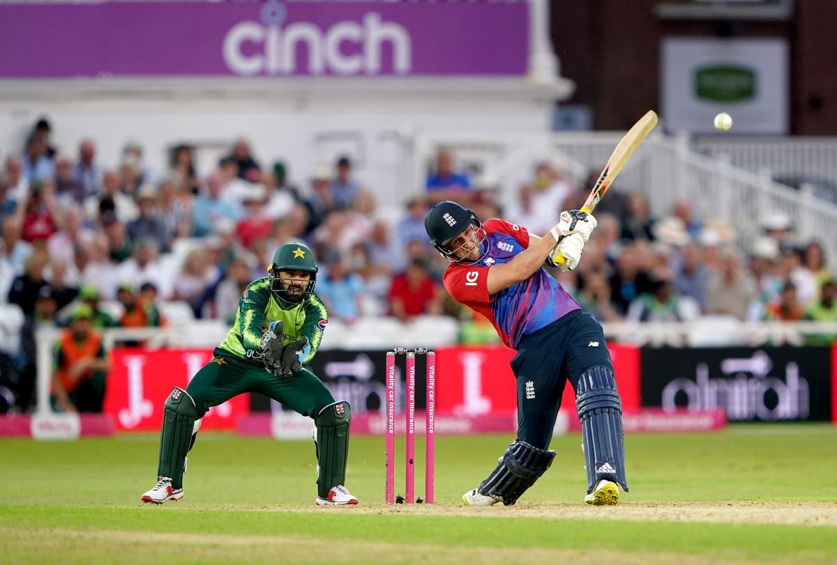 Liam Livingstone century in vain as Pakistan beat England in high-scoring opener