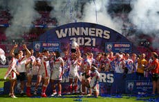 St Helens win Challenge Cup after second-half comeback against Castleford