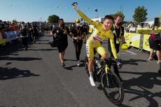 Tadej Pogacar het die tweede agtereenvolgende Tour de France -titel behaal