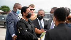 Haiti faces uncertain future as mourning first lady returns
