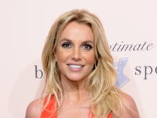 Britney Spears fans confused as pop star shares same topless photo on Instagram