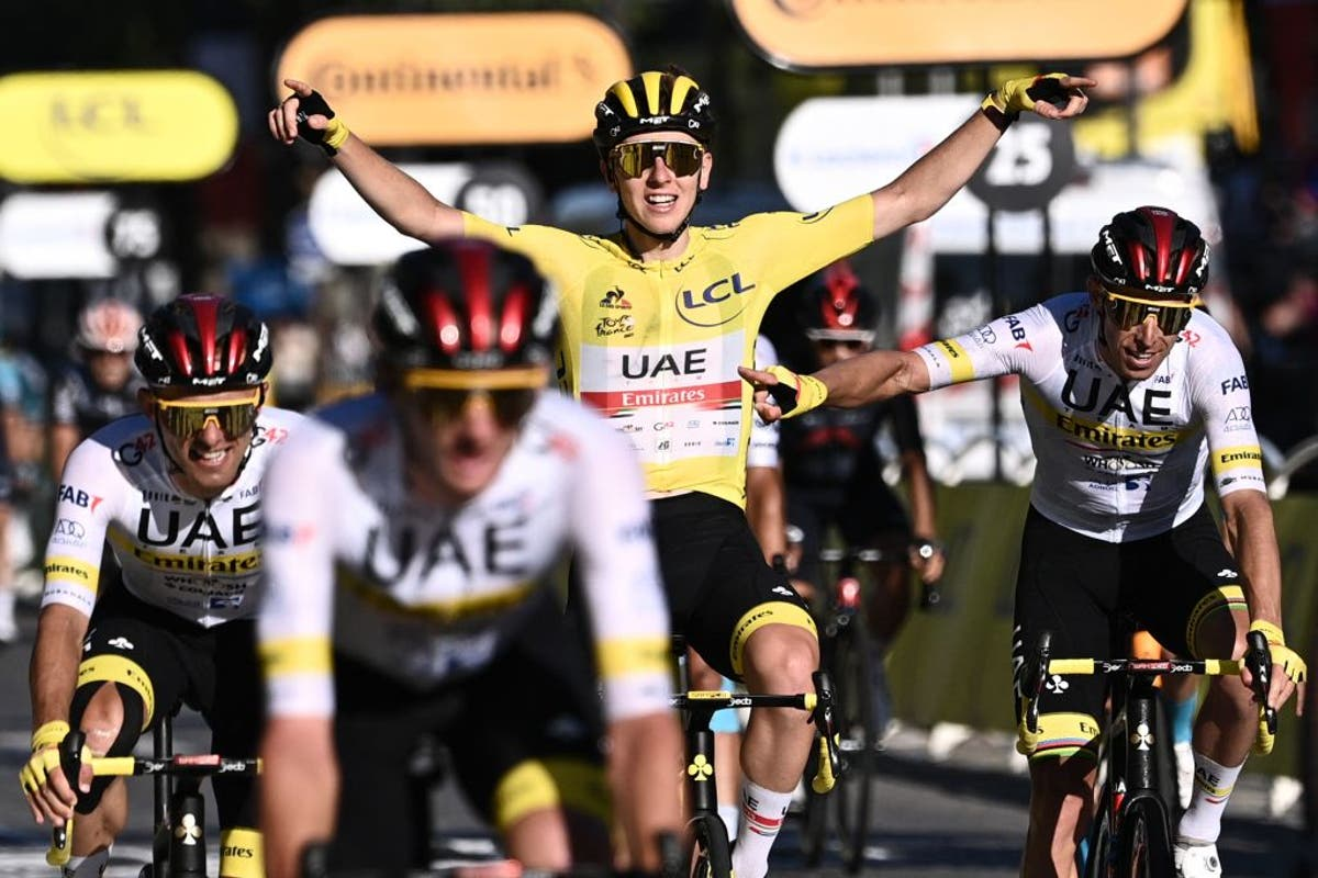 Tour de France 2021: Tadej Pogacar wen as Mark Cavendish net die verhoogrekord misloop
