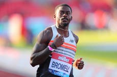 Trayvon Bromell: Who is the Team USA Olympic star and what is his fastest 100m time?