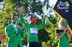 Mark Cavendish praised by Gareth Southgate for 'phenomenal achievement' at Tour de France