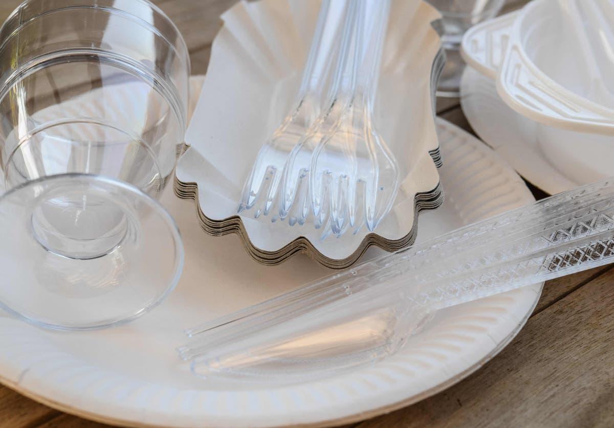 使い捨て食器は、政府の計画の下でイギリスで禁止される可能性があります