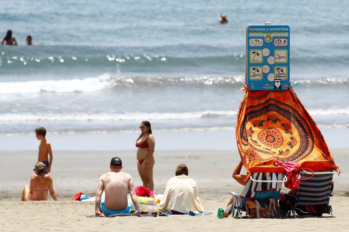 Seks millioner kan ha sommerferien ødelagt av endring av Spania og Hellas