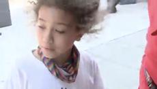 8歳の少女は、ナショナルズパークが悲痛なビデオで彼女の「2回目の撮影」だったと言います