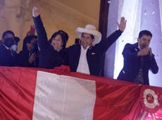 Leftist teacher, political novice, is Peru's president-elect