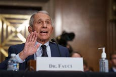 Dr Fauci refutes attacks from Rand Paul on Covid research in heated exchange: 'If anybody's lying here, it is you'