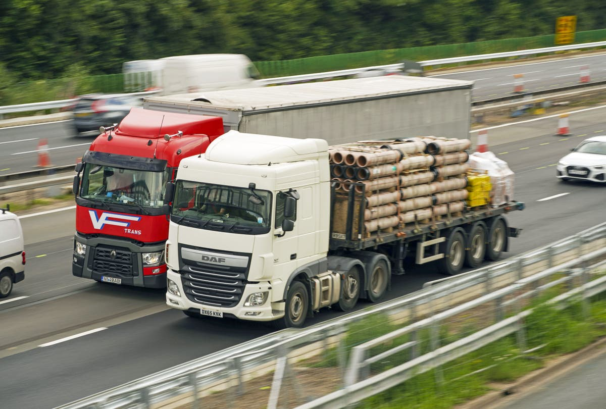 Ministers announce plans to streamline lorry driver test amid shortage