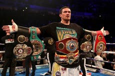 Frank Warren predicts Oleksandr Usyk will give Anthony Joshua 'a lot of problems'