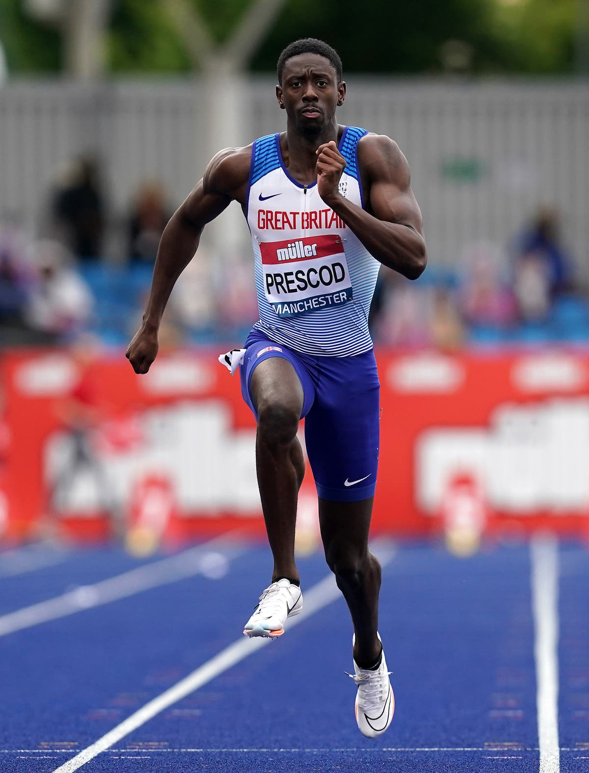 Reece Prescod lays off the cakes as he targets Olympic medal
