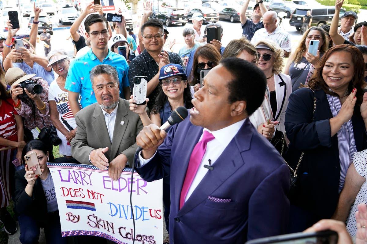 Radio host Larry Elder wins fight to enter California recall